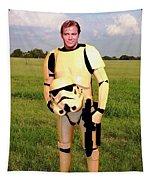 Captain James T Kirk Stormtrooper Tapestry
