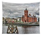 Cardiff Bay Skyline Tapestry