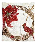 Cardinal Holiday II Tapestry