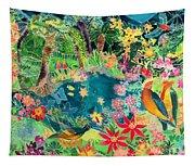Caribbean Jungle Tapestry