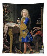 Carlos De Bourbon-farnese. The Future Charles IIi  Tapestry