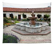 Carmel Mission Courtyard Tapestry