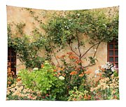 Carmel Mission Windows Tapestry