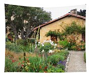 Carmel Mission With Path Tapestry