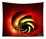 Carnelian Spiral Tapestry
