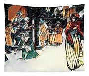 Carol Singers Tapestry