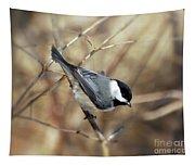 Carolina Chickadee - Birds At Bisset Park Tapestry