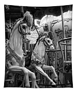 Carousel Horses No. 1 Tapestry
