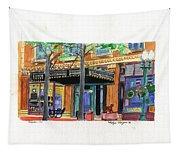 Carpenter Hotel-rain Tapestry