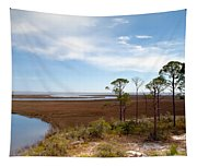 Carrabelle Salt Marshes Tapestry