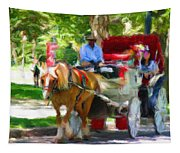 Carriage Colors Tapestry