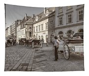 Carriages Back To Stephanplatz Tapestry