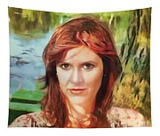 Carrie Fisher Tapestry
