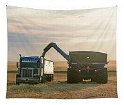 Cart Into Truck Tapestry