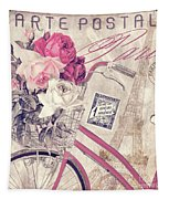 Carte Postale Bicycle Tapestry