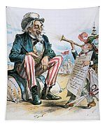 Cartoon: Uncle Sam, 1893 Tapestry