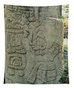 Carved Danzantes Stone Tapestry