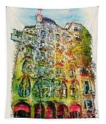 Casa Batllo Barcelona Tapestry