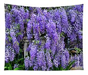 Cascading Wisteria 2 Tapestry