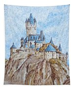 Castle On The River Rhine Tapestry