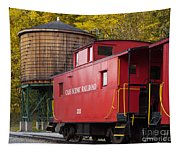 Cass Railroad Caboose Tapestry