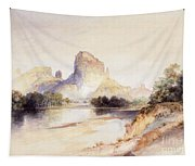 Castle Butte, Green River, Wyoming Tapestry