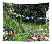 Castle Garden In Germany Tapestry