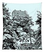 Castle Ruin Flossenbuerg Tapestry