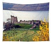 Castle Ruins Scotland Tapestry