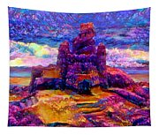 Castles In The Sand Cs-1a Tapestry