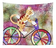 Cat And Mouse Tapestry