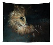 Cat In The Shade Tapestry