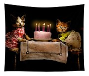 Cat - It's Our Birthday - 1914 Tapestry