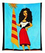 Catalan Lady / La Ramona Tapestry