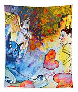 Catching Love Tapestry