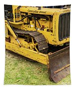 Caterpillar D2 Bulldozer 01 Tapestry