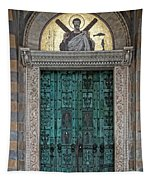 Cathedral Of Amalfi Door Tapestry