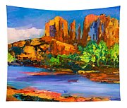 Cathedral Rock Afternoon Tapestry