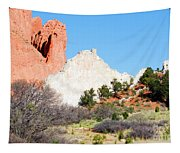 Cathedral Rock In Garden Of The Gods Park Tapestry