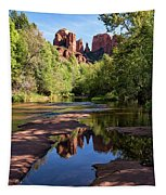 Cathedral Rock Of Sedona Tapestry