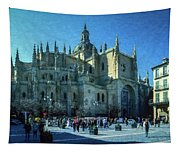 Cathedral, Spain Tapestry