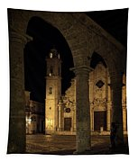 Cathedral Square Havana Cuba Tapestry