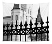 Catheral Basilica - Bw Tapestry