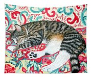 Catnap Time Tapestry