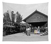 Catskill Railroad Tapestry
