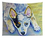 Cattle Dog Puppy Tapestry