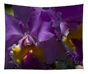 Cattleya Orchid Garden Of Eden Maui Tapestry