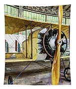 Caudron G3 Propeller And Cockpit - Vintage Tapestry