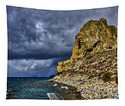 Cave Rock Color Tapestry