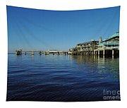 Cedar Key Pier Tapestry